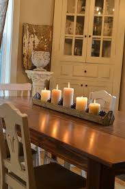 Candle Centerpieces For Dining Room Table Best 25 Dining Room Table Decor  Ideas On Pinterest Dinning Idea