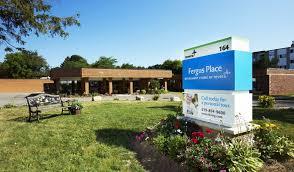 exterior fergus place kitchener retirement residence