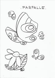 Disegno Da Colorare Le Farfalle Nostrofiglioit