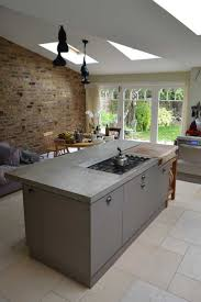 kitchen worktops ideas worktop full: overview of cast in situ polished concrete worktop