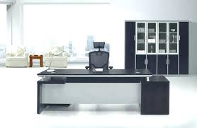 designer office tables. Long Computer Table Black Desk Designer Office White Color Tables