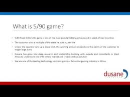 5 90 Lottery Game Youtube