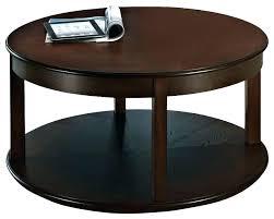 espresso coffee table s genoa round wood with glass top in dark square