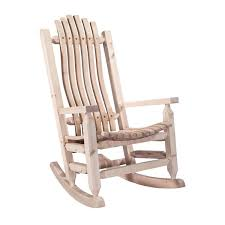rustic wooden rocking chairs. Brilliant Wooden Homestead Rocking Chair  Ready To Finish Throughout Rustic Wooden Chairs D