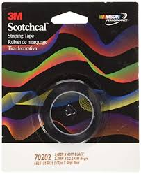 Scotchcal Striping Tape Chart 50 Faithful 3m Pinstripe Tape For Cars