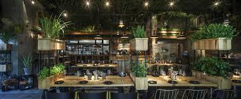 Kitchen Garden Cafe A Natural Restaurant Interior Design Adorable Home