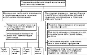 Курсовая работа Процесс адаптации как важнейший элемент системы  Цели и задачи системы управления профориентацией и адаптацией персонала в организации