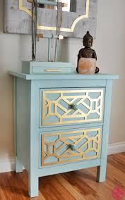 hemnes ikea furniture. Gold Cheryle O\u0027verlays On The Ikea Hemnes Nightstand Painted Robin\u0027s Egg Blue Is\u2026 Furniture E