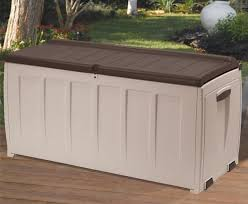 outdoor storage boxes plastic. keter plastic garden storage box with seat - 340 litre capacity outdoor boxes s