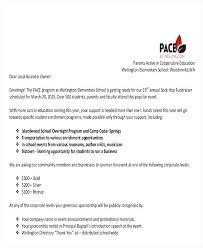 Solicitation Latter Business Solicitation Letter Intended For Event Sponsorship