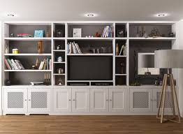 Built In Wall Shelves Best 25 Shelves Around Tv Ideas Only On Pinterest Media Wall