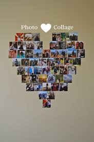 wall photo heart super cute supplies needed lots of photos