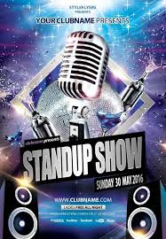 talent show flyer template free stand up show psd flyer modelos pinterest psd flyer templates