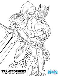 Small Picture Transformers optimus prime coloring pages Hellokidscom