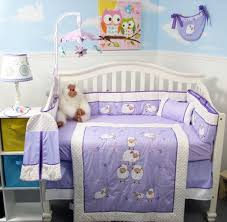Lavender Nursery Amazoncom Soho Lavender Wolly Sheeps Crib Nursery Bedding Set