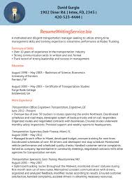 Supervisor Resume Examples 2012