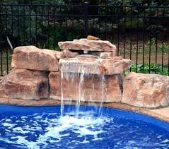 In ground pools with waterfalls Hot Tub Waterfall Inground Pool With Waterfall Pool Waterfall Slide Kit Swimming Kits Foot Modular Inc Home Designing Inground Pool With Waterfall Gathalcocom Inground Pool With Waterfall Pools With Rock Waterfalls Best