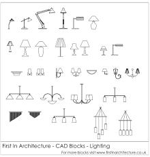 Light Fixtures Autocad Blocks Free Cad Blocks Lighting