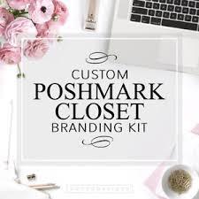Posh Closet Poshmark Closet Branding Kit Poshmark Seller Custom Logo Posh