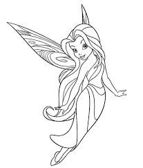 Small Picture Silvermist Flying in Disney Fairies Coloring Page Download