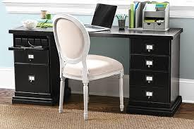 Home office solutions Organization Black Finish Jaluclub Home Office Set Ballard Designs Ballard Designs