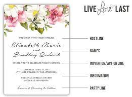 wedding invitation wording everything