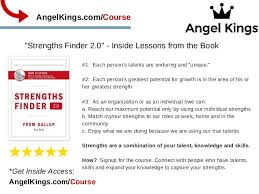 Individual Strengths Strengths Finder 2 0 Review Test Lessons From Book Angelkings Com