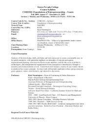 college syllabus template sierra nevada college course syllabus