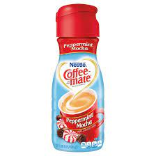 This skinny peppermint mocha coffee creamer uses unsweetened almond milk and coconut sugar, so it's dairy free and natural. Coffee Mate Peppermint Mocha Coffee Creamer 1pt Nestle Coffee Mate Coffee Mate Pumpkin Spice Creamer