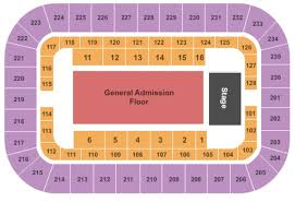 Cox Business Center Ballroom Seating Chart Cox Business Center Arena Tickets In Tulsa Oklahoma