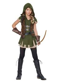 girl s miss robin hood costume