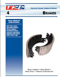 Trp Parts Catalog Brakes Chapter