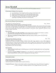 Sample Resume For School Counselor Counseling Resume Pelosleclaire Com