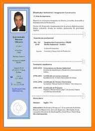 modelo curriculum 8 curriculum vitae en word 2017 theorynpractice