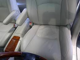griot s garage leather care spray here is the entire seat now cleaned