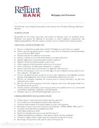 Assistant Loan Processor Cover Letter Cover Letter For Loan