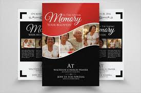 funeral flyer 11 funeral flyer templates psd eps ai format download free