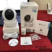 Camera Wifi Không Dây Giám Sát Gia Đình Ezviz CV246 C6N Full HD 1080P 2MP-  Xoay 360-Đàm Thoại Loa 2 Chiều-4587, Giá tháng 11/2020