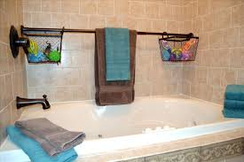 Bathroom Toys Storage Use Extra Shower Curtain Rods To Increase Bathroom Storage More
