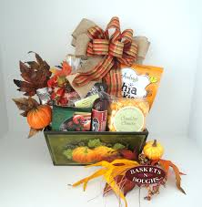 home by holiday autumn fall and thanksgiving gift baskets green pumpkin planter gift box