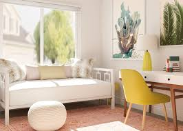 Image Corporate Office Guest Room Decorating Ideas Modsy Blog Simple Officemeetsguest Room Decorating Ideas Modsy Blog