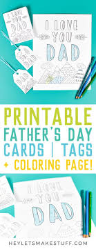 Some other father's day freebies that you might like include father's day coupon books and printable father's day cards. Printable Father S Day Card Gift Tags Bonus Coloring Page