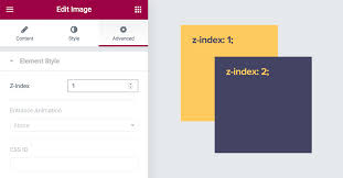 How to Use Z-Index in Elementor - Docs | Elementor