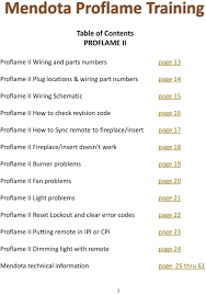 manual revision 2015 p n pdf fireplace insert doesn t work page 18 proflame ii burner problems page 19 proflame ii
