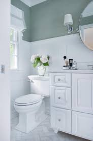 white bathroom with sea foam green accents view full size