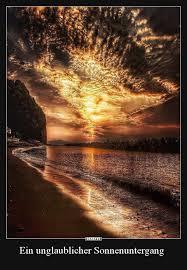 Ein Unglaublicher Sonnenuntergang Lustige Bilder Sprüche Witze