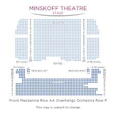 Frozen Musical Seating Chart The Lion King Minskoff Theatre Tickets