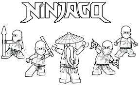 Free Printable Ninjago Coloring Pages Printable Coloring Pages