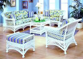 Image Gray White Wicker Sunroom Furniture Best Beautiful Indoor Wicker And Rattan Living Room Furniture Bar Harbor Set Orangutankuinfo White Wicker Sunroom Furniture Orangutankuinfo