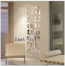 Aliexpress.com : Buy New 3d Acrylic wall sticker DIY mirror wall stickers  home Decor WALL STICKERS decoration mirrors adesivo de parede ,wall decor  from ...